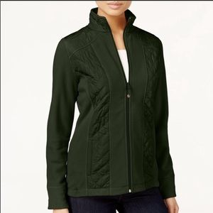 Style & Co Quilted Fleece Jacket